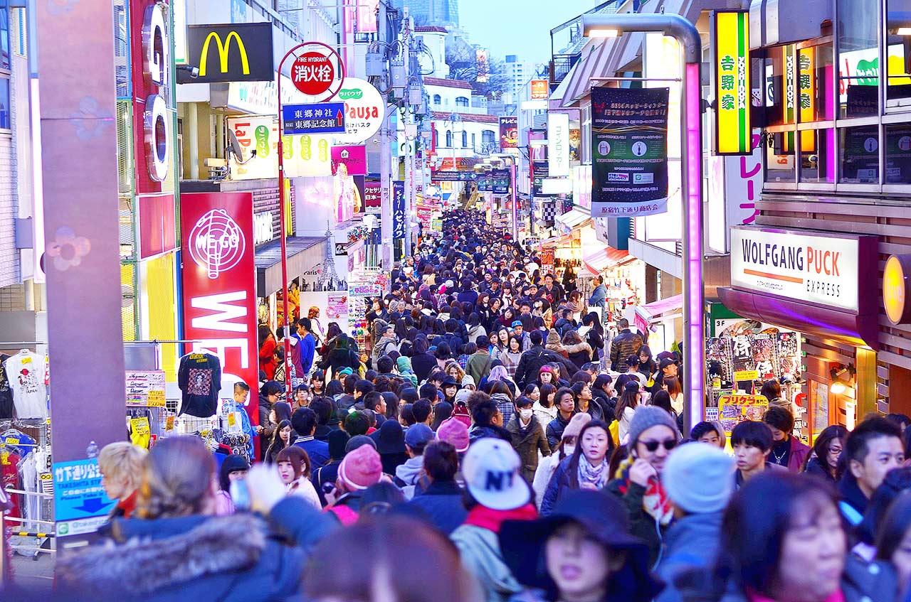 Takeshita Street - Takeshita Dori - Tokyo - Day 1 · Asakusa + Harajuku +  Shibuya