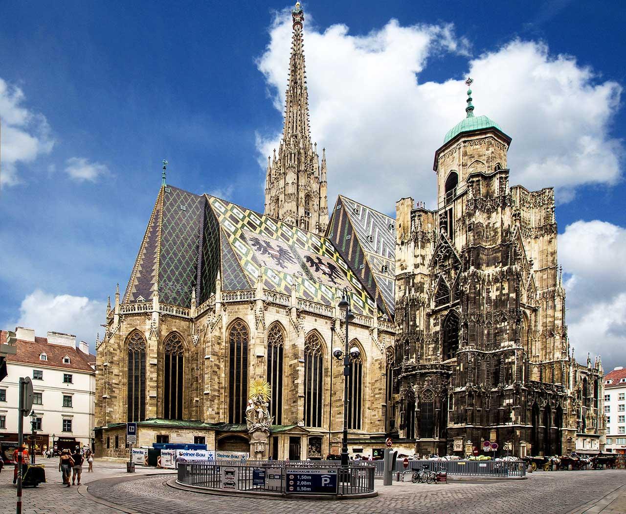 St. Stephen's Cathedral - Vienna - Day 1 · Belvedere + City center + St. Stephen's  Cathedral
